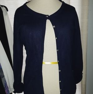 Two Audrey & Grace Size Small cardigans